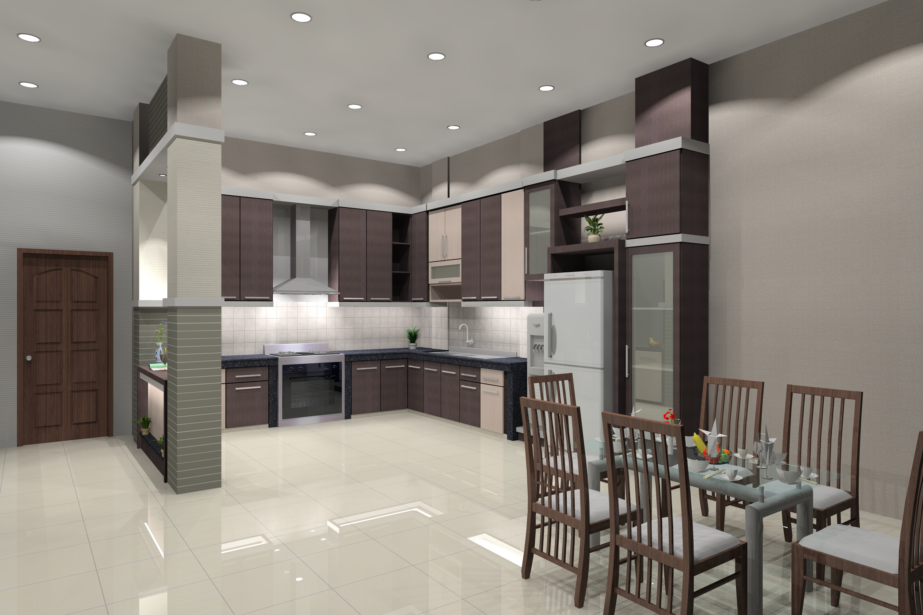 Design interior arsitek rumah desain interior rp for Designs of interior decoration