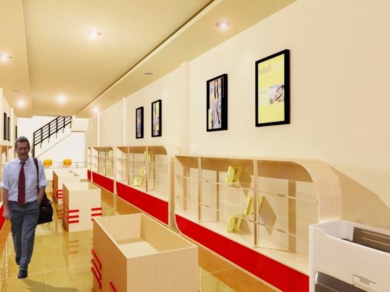 interior toko buku 2
