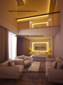 interior kamar apartemen